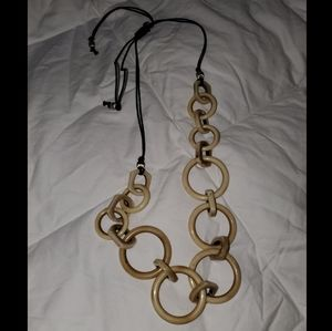 Chico's Natural Circlet Necklace